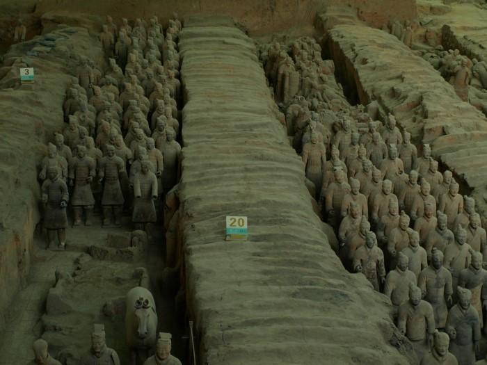 Tarrakottaarmee (Xi'an / China)