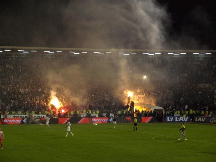 FK Partizan - Roter Stern Belgrad